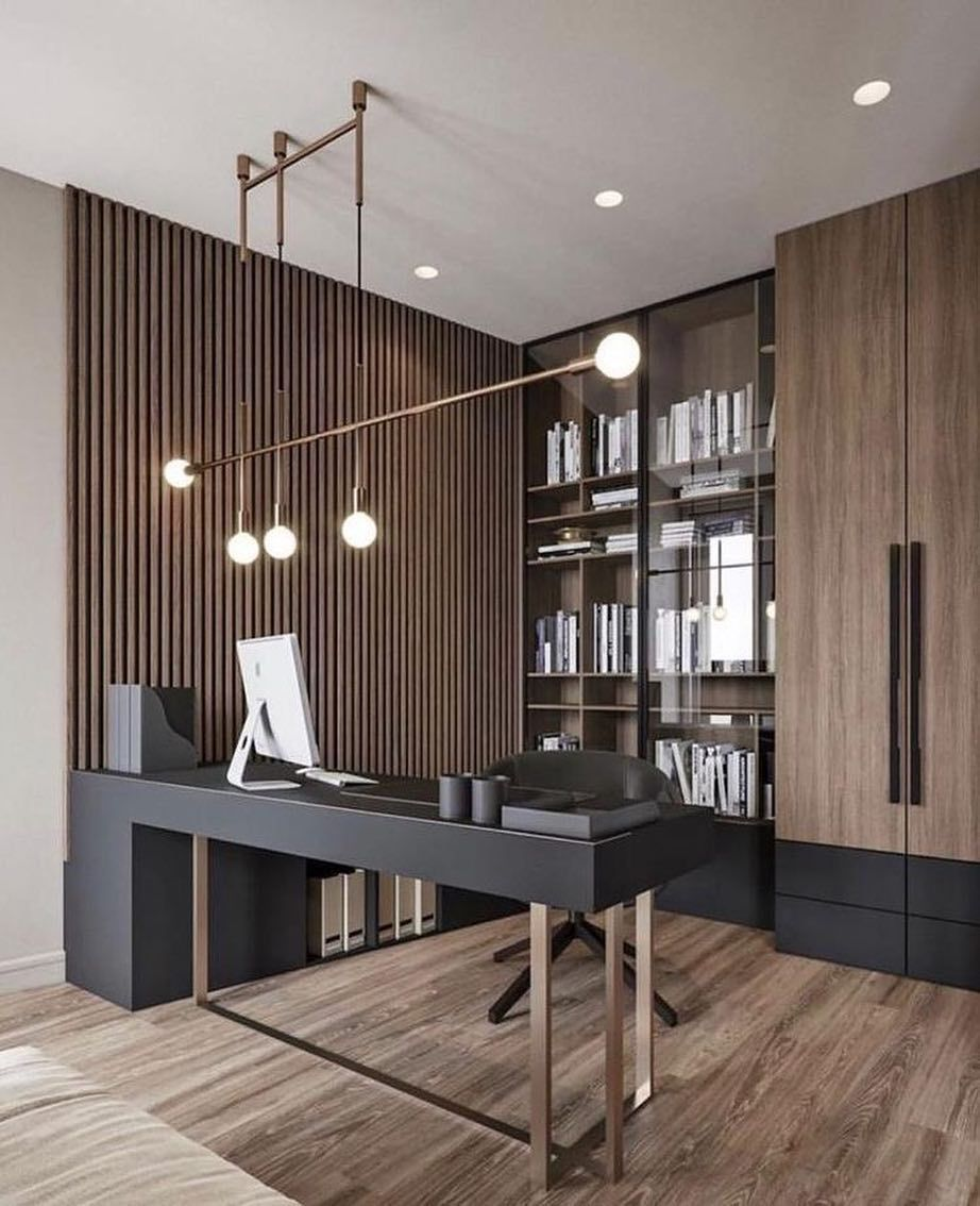28 Home Office Ideas (Modern Style and Comfortable) - Pandriva