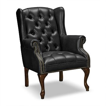 Tremendous American Signature Furniture Classic Leather Accent Chair Caraccident5 Cool Chair Designs And Ideas Caraccident5Info