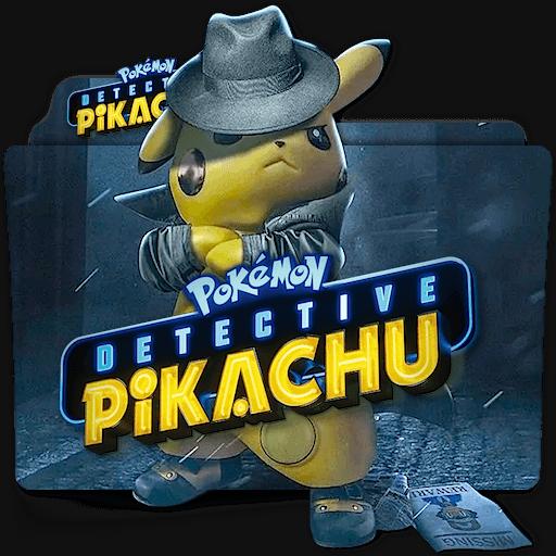 Pokemon Detective Pikachu Movie Folder Icon V2 By Https Www Deviantart Com Zenoasis On Deviantart Pokemon Movies Folder Icon Folder Icon