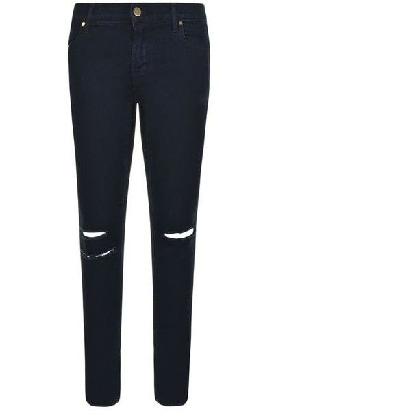 J Brand Photo Ready Mid Rise Jeans (3.641.565 IDR) ❤ liked on Polyvore featuring jeans, blue mercy, white skinny jeans, white ripped skinny jeans, skinny jeans, destructed skinny jeans and mid rise skinny jeans