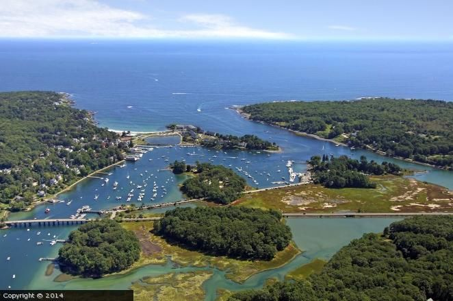 York Harbor Maine United States Click Through For Tide Chart