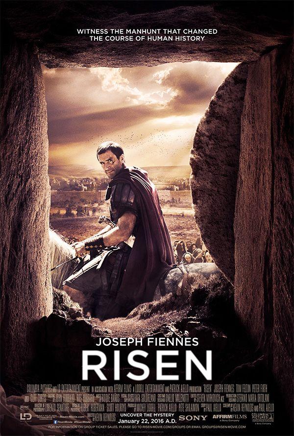 #RisenMovie starring Joseph Fiennes & Tom Felton | In theaters January 22, 2016