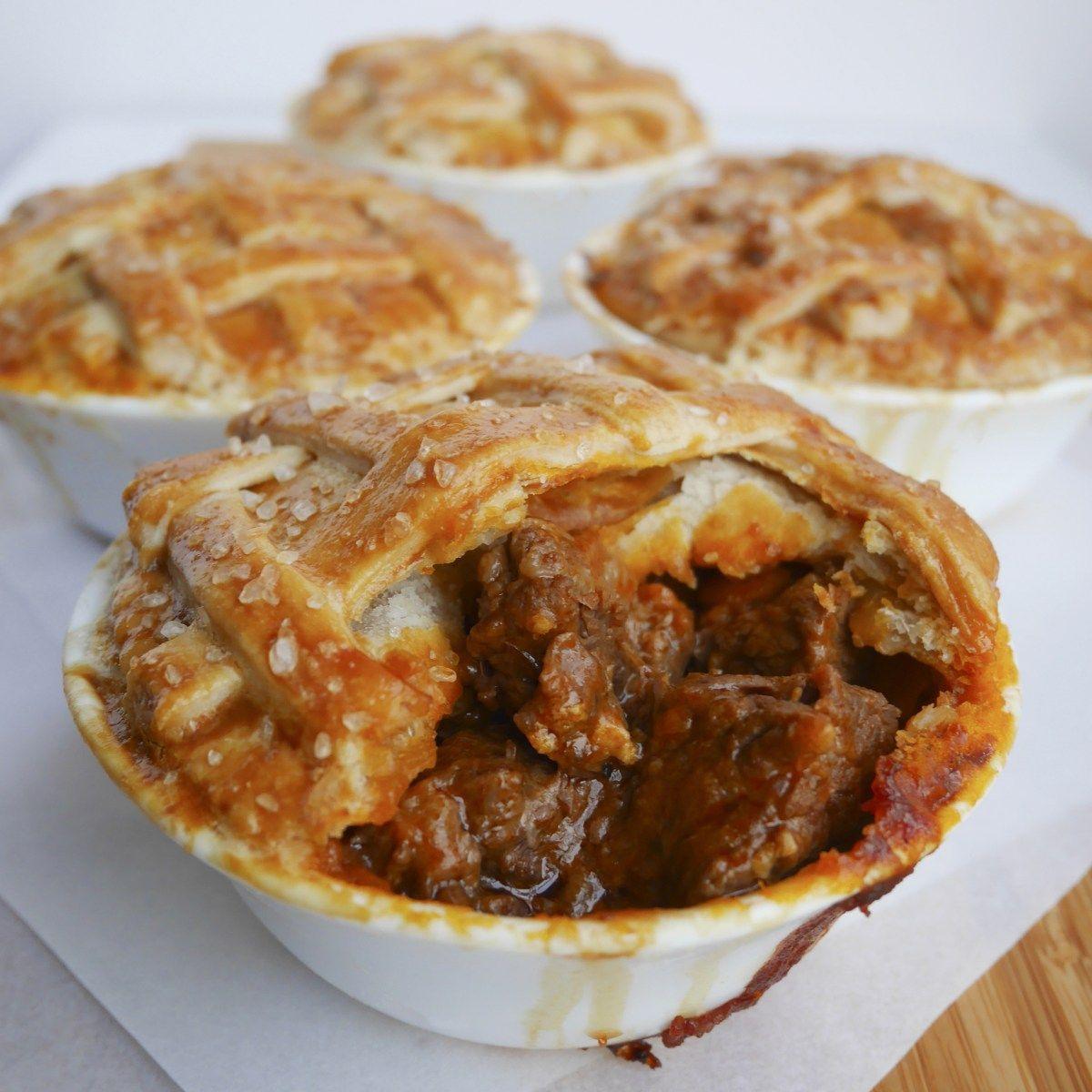Mini Beef Steak Pies | Steak pie, Beef steak, Pie