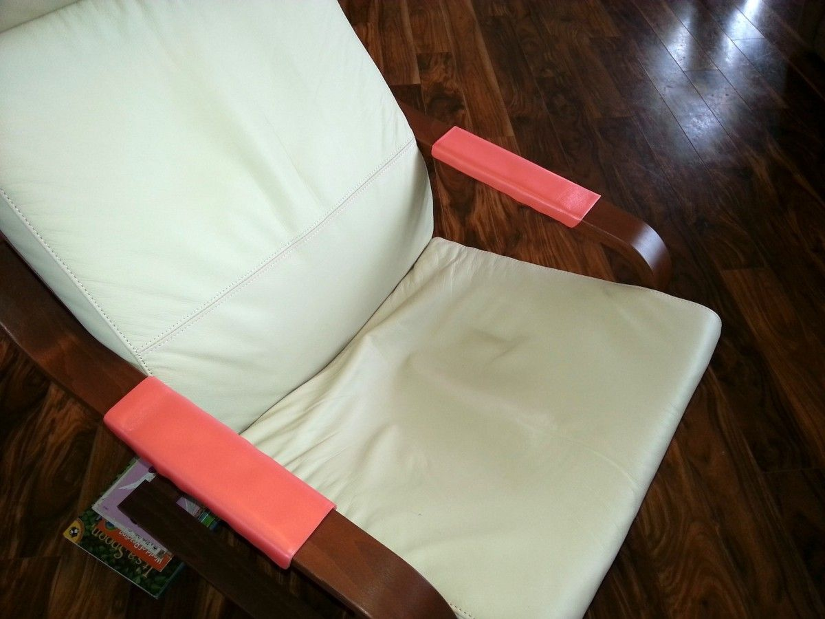 How To Pad Your Poang Armchair Armrest Ikea Hackers Ikea Beach Chair Umbrella Ikea Hackers