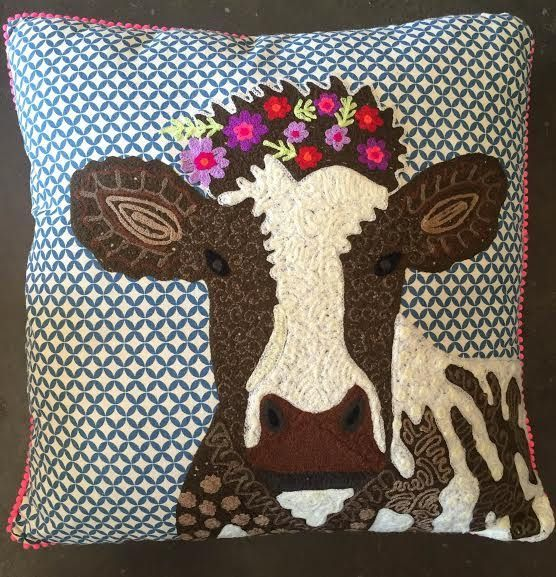 Karma Living Cow Throw Pillow | Products | Pinterest | Throw Pillows And  Products