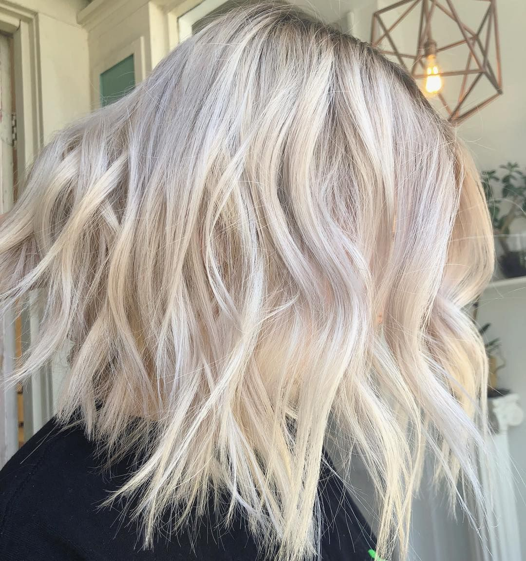 9v 9p With 1 4 Clear 10 Min Cool Blonde Long Hair Styles