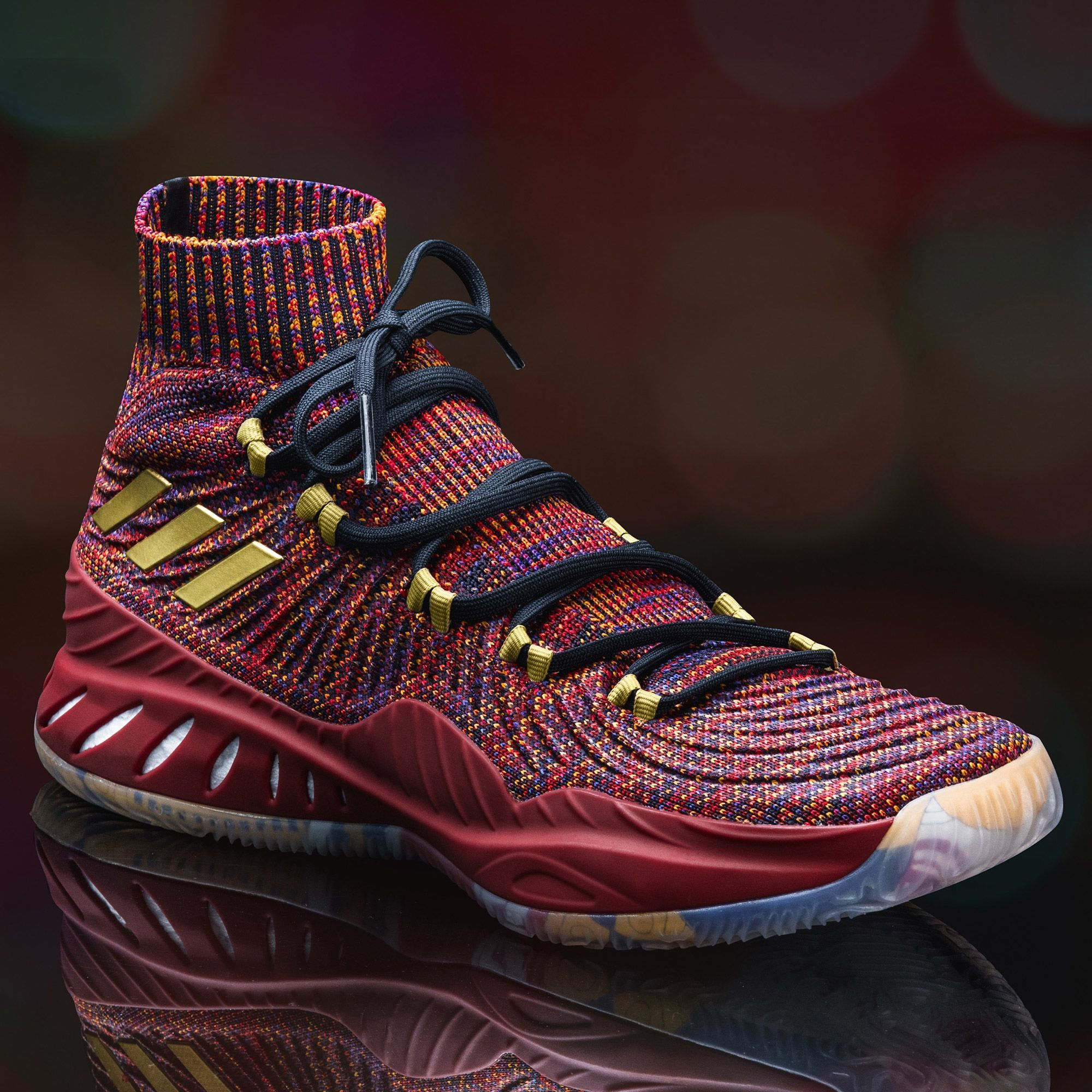 51020d0ebf adidas Drops a Surprise SM Crazy Explosive 2017 Primeknit for Las Vegas -  WearTesters