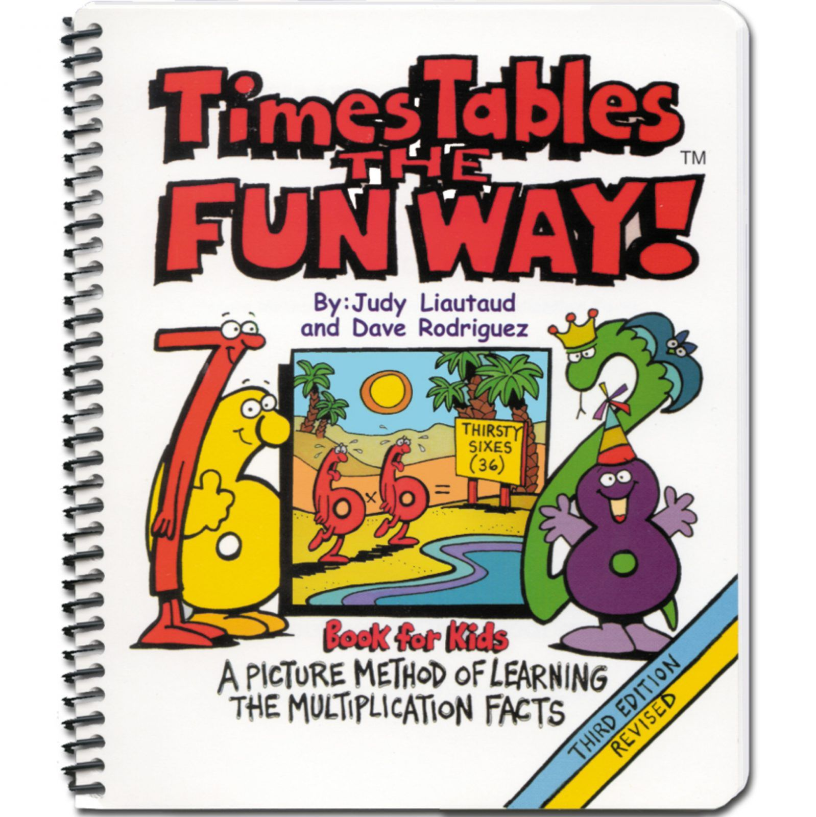 Times Tables The Fun Way Book For Kids In With