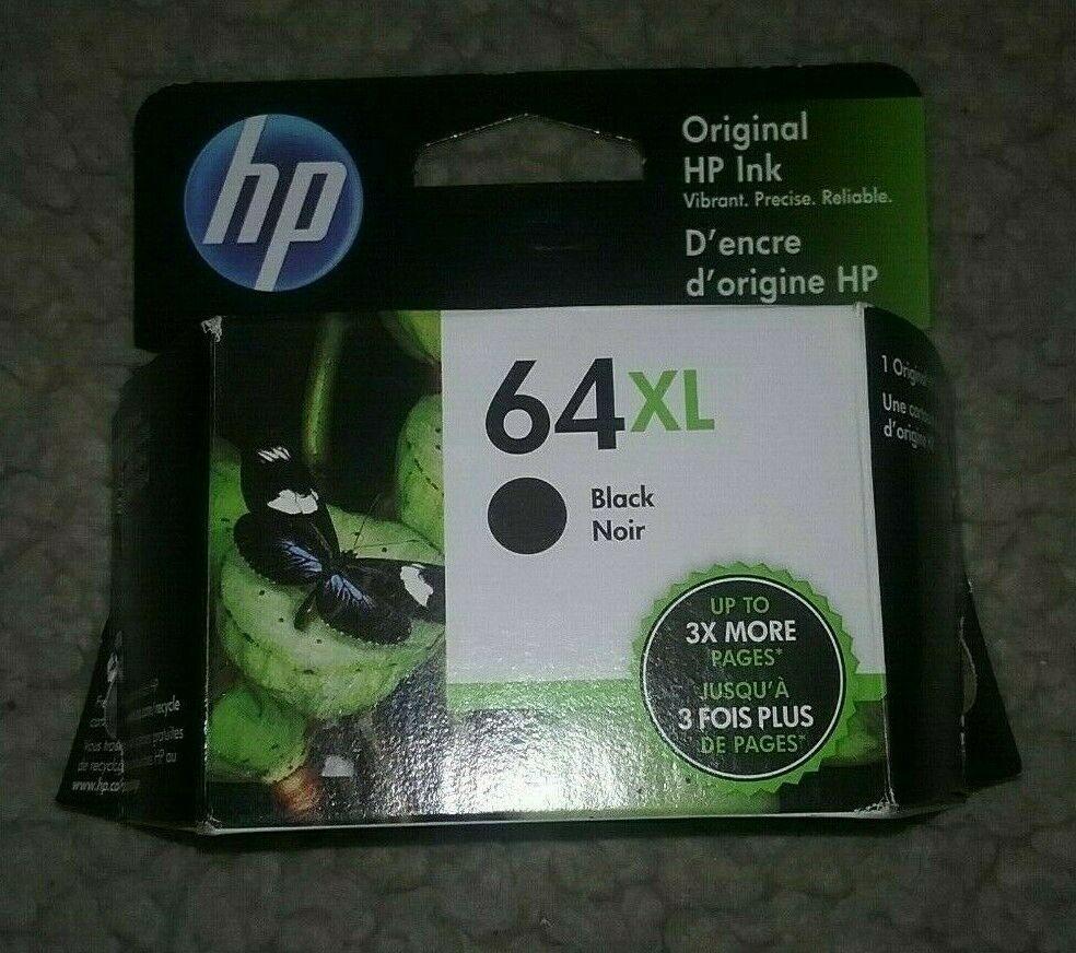 NEW Genuine HP 64XL Black Ink Cartridge #HP | Black ink cartridge. Ink cartridge. Cartridges