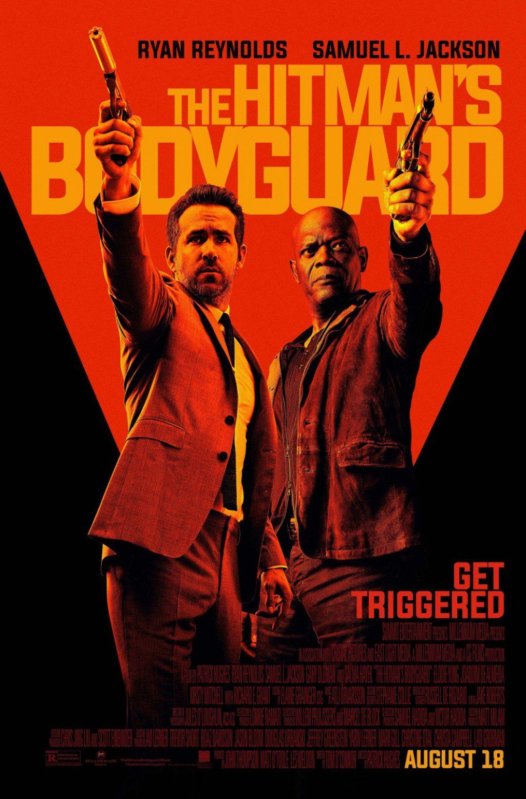 The Hitman's Bodyguard (2017) Review The bodyguard movie