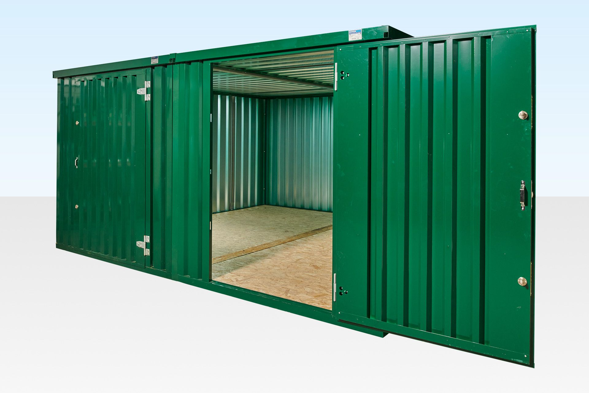 Flat Packed Store 3m For Sale In The Uk In 2020 Flat Pack Portable Storage Locker Storage