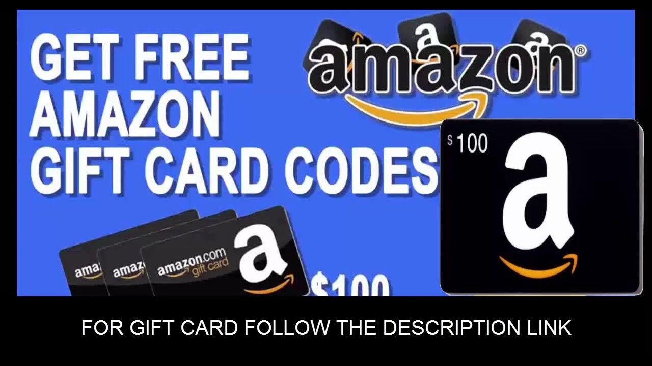 Amazon gift card codes how to get your 100 gift card