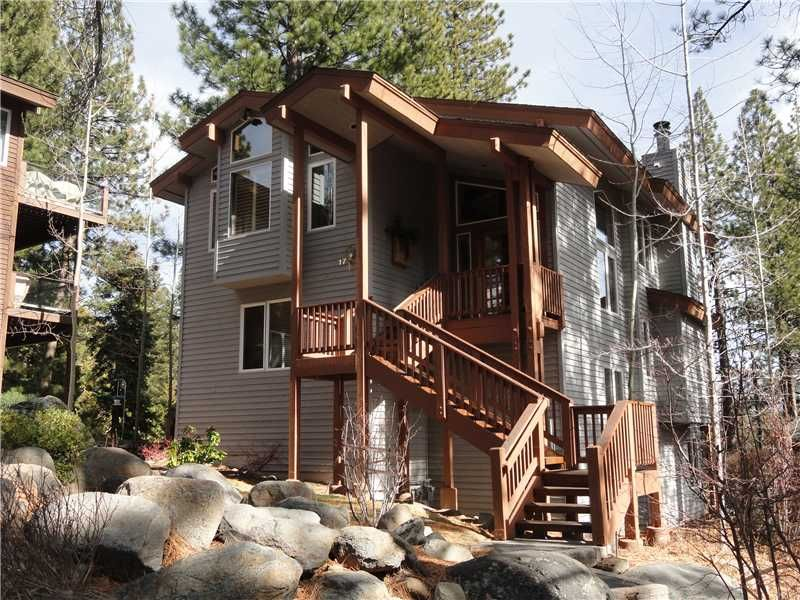 SOLD! - 101 Red Cedar Rd #17 - Offered for $1,195,000  Enjoy your privacy in this manicured gated community. Immaculate and beautifully furnished, this townhome with lovely views of Lake Tahoe boasts nearly 3,000sf of comfortable living space. Split level design with living/kitchen/bedroom on top upper level. Opulent master bedroom with his/her baths & private deck. Lower level is ideal for guests with it's own living area, bedroom, full bath & walk out patio.