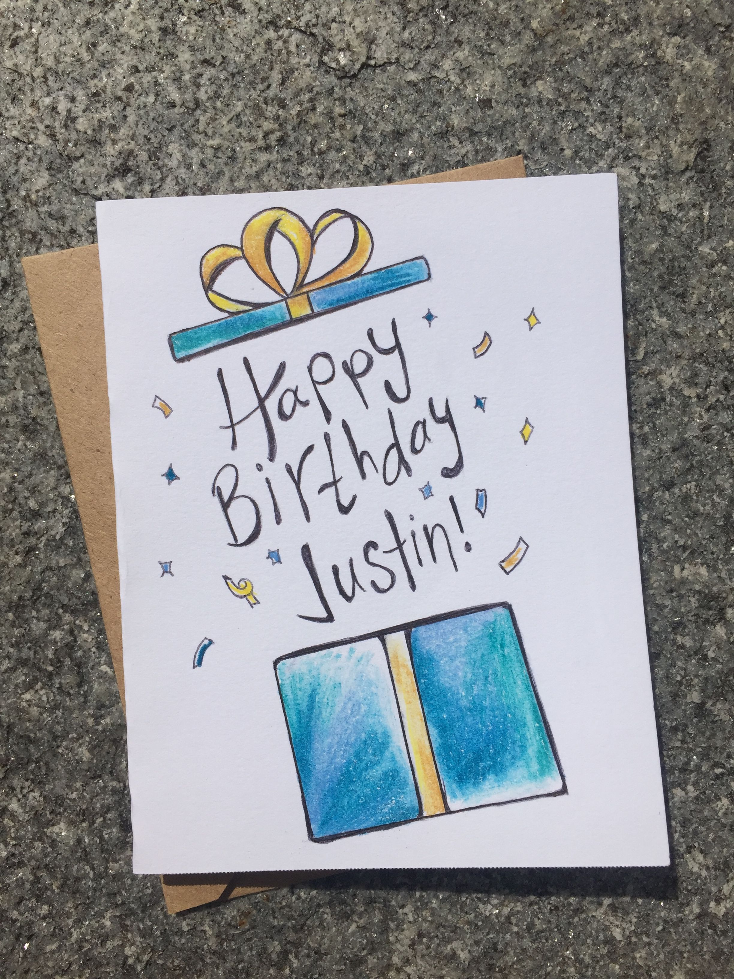 Happy Birthday Card Happy Birthday Cards Diy Happy Birthday Cards Handmade Watercolor Birthday Cards