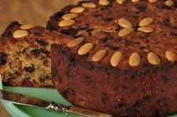 Fruit cake is the traditional British Christmas Cake that is full of fruit and nuts, laced with alcohol (usually brandy). From Joyofbaking.com With Demo Video