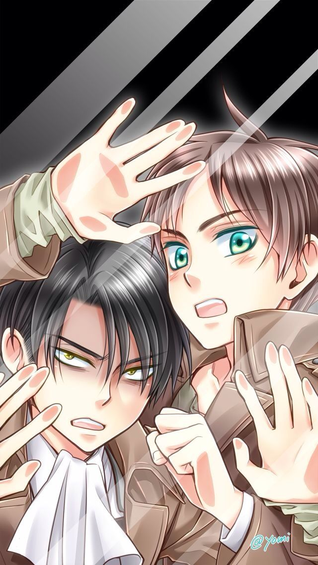 Eren X Levi Ereri Gonna Make This My Screensafer Nyaaa Attack On Titan Anime Attack On Titan Levi Attack On Titan
