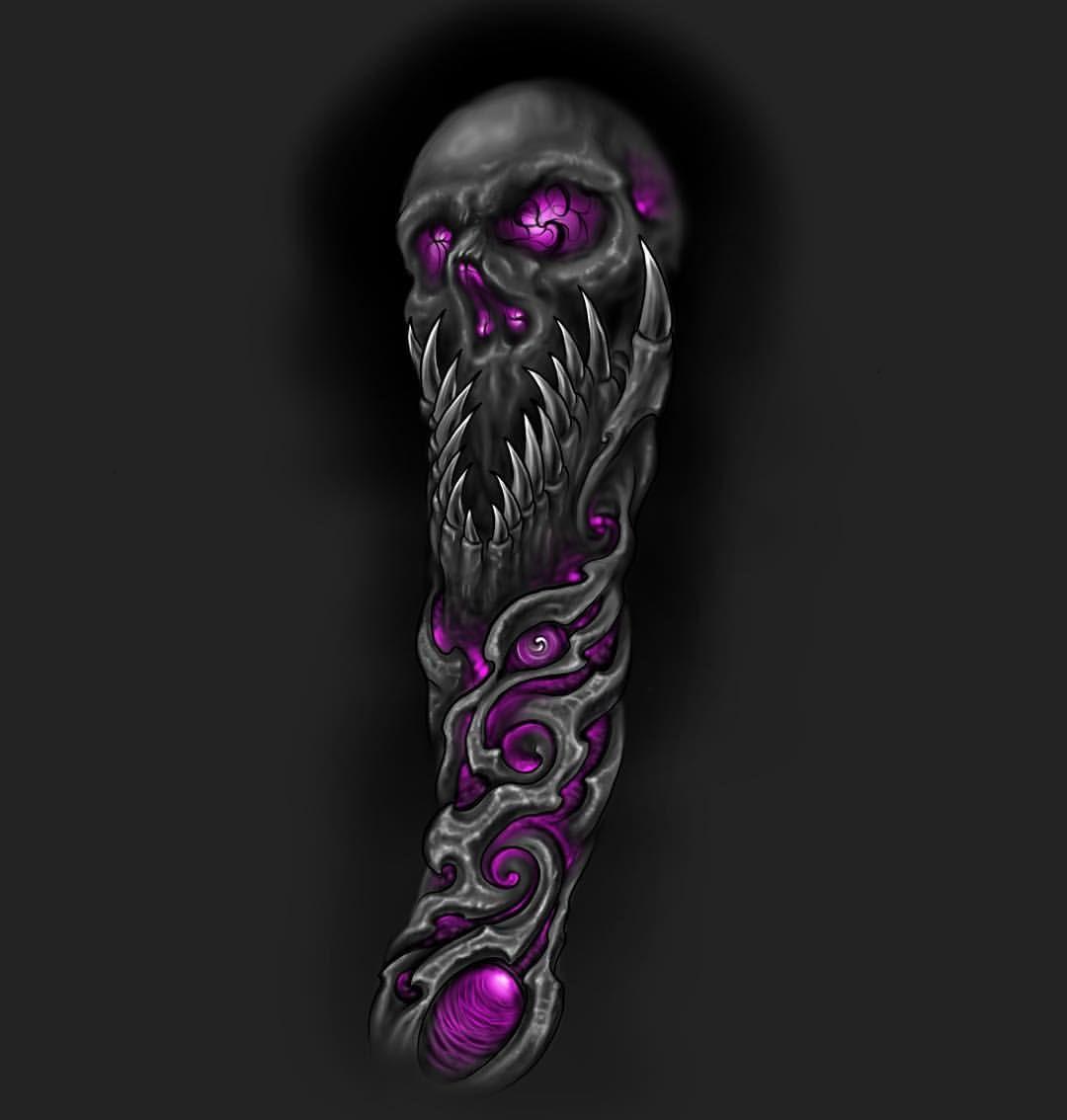 Skull Darkart Tattoo Saigontattooclub Design Drawing Biomechanical Biomech Binhp Skull Sleeve Tattoos Biomechanical Tattoo Biomechanical Tattoo Design