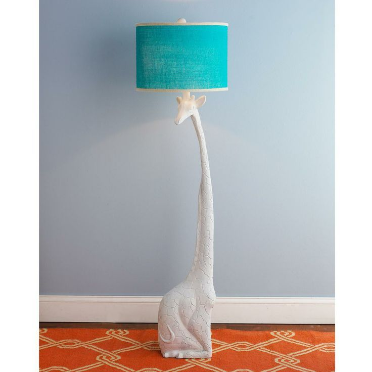 Bust Of A Turquoise Floor Lamp Enlightening Your Room