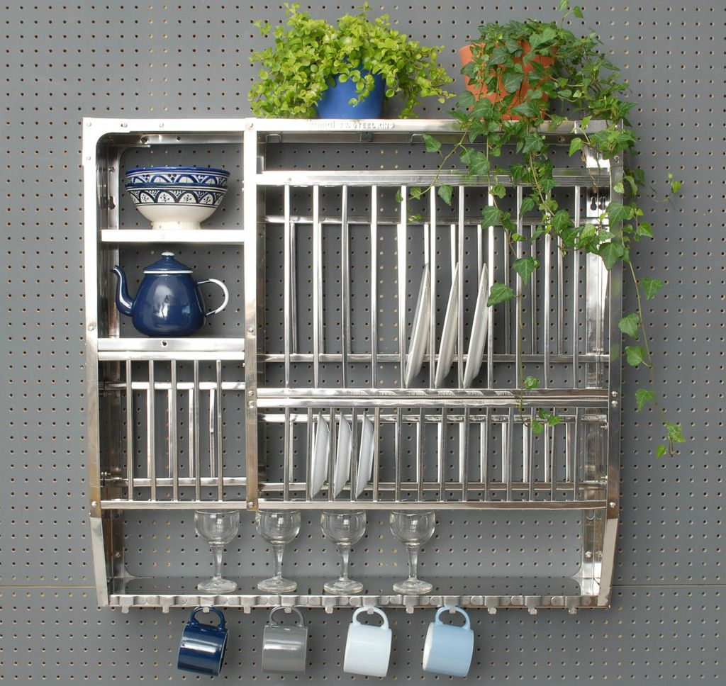 Stainless Steel Plate Rack - Large & Stainless Steel Plate Rack - Large | Plate racks Steel plate and ...