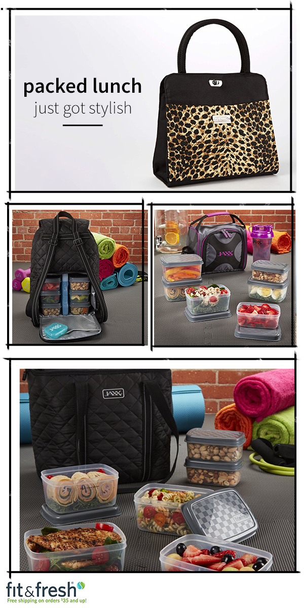 Packed Lunch Just Got Stylish Check Out Www Fit Fresh