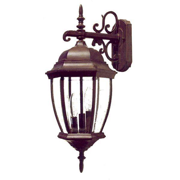 Acclaim Lighting Wexford 22 5 In Burled Walnut 3 Light