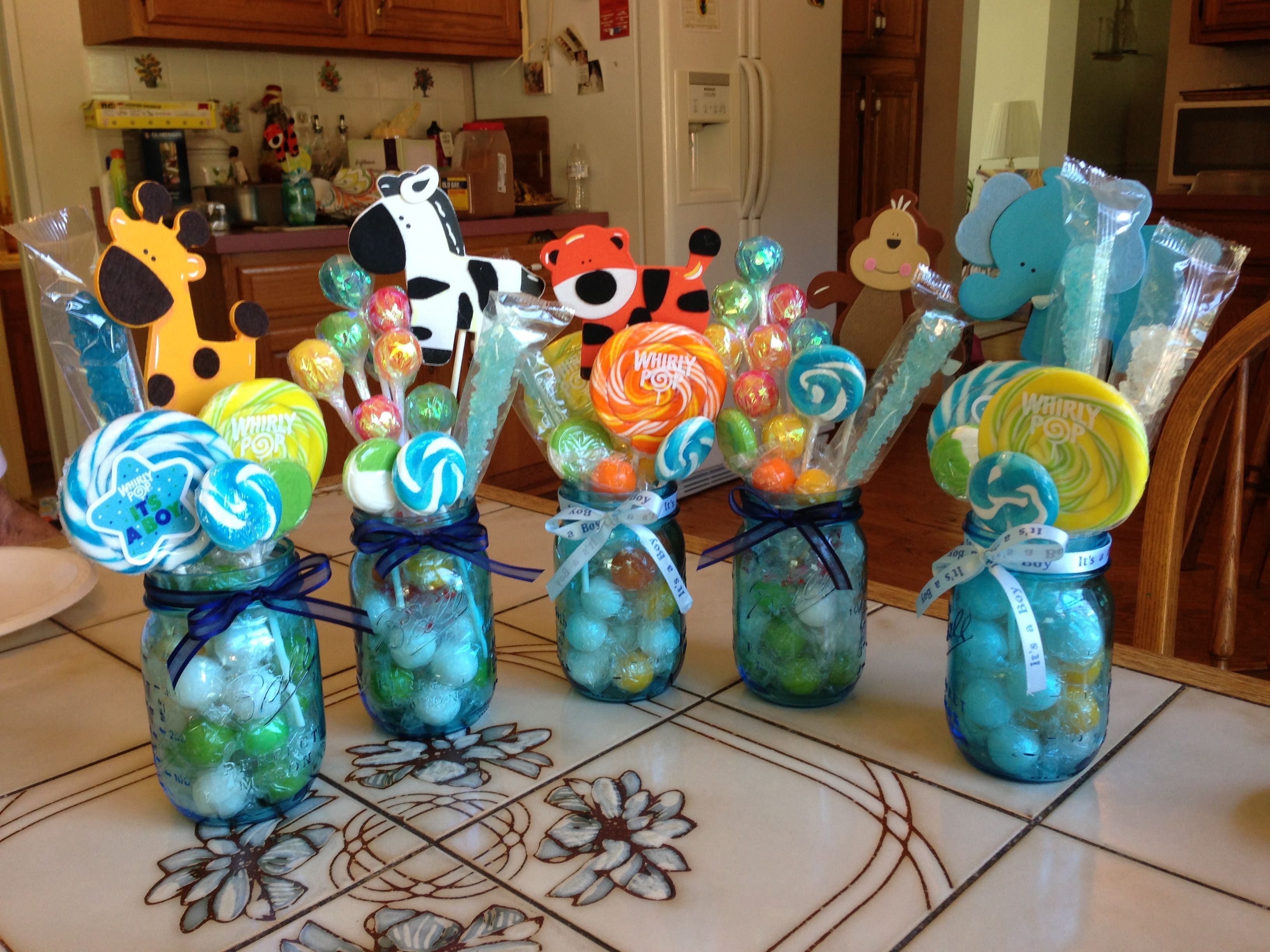 Baby Shower center pieces!