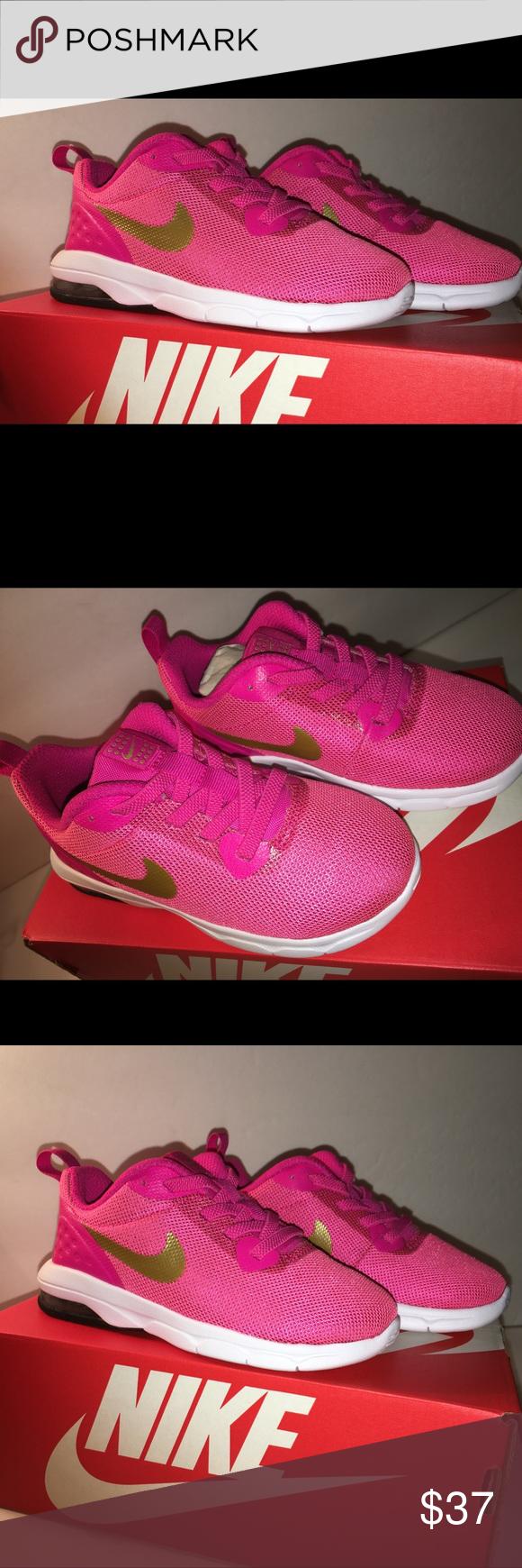 Kids Nike Air Max Motion LW 9C Pink Gold NIB Kids Nike Air