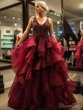 #Quinceanera Dress maroon #クールな成人式ドレス Cool quinceanera dress…