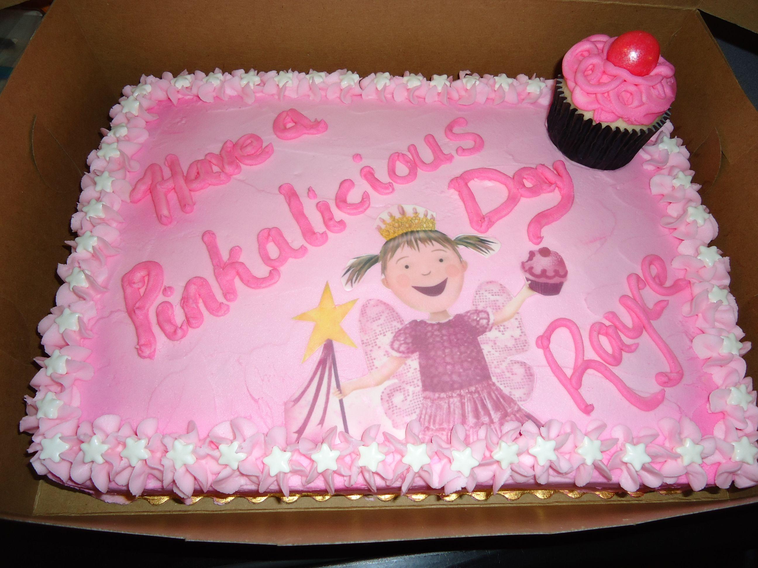 Wondrous Pinkalicious Birthday Cake With Images Pinkalicious Birthday Party Birthday Cards Printable Benkemecafe Filternl