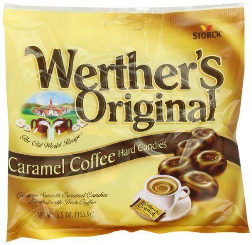 Werther S Original Caramel Coffee Hard Candies 5 5 Ounce Bags