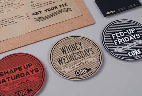 Coaster Designs   Cheers! Beer, Spirits and Wine Design   Pinterest ...