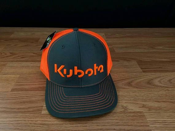 46f4f301 Kubota Tractors, Embroidered Hats, Snapback Cap, Farmer, Baseball Hats,  Gingerbread,