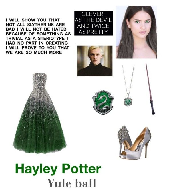 """""""Hayley #1"""" by lucienwolfstar22 ❤ liked on Polyvore featuring Badgley Mischka"""