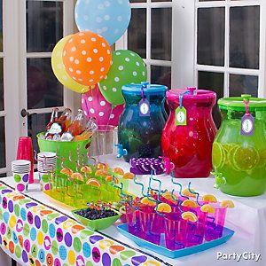 Colorful Graduation Party Ideas City