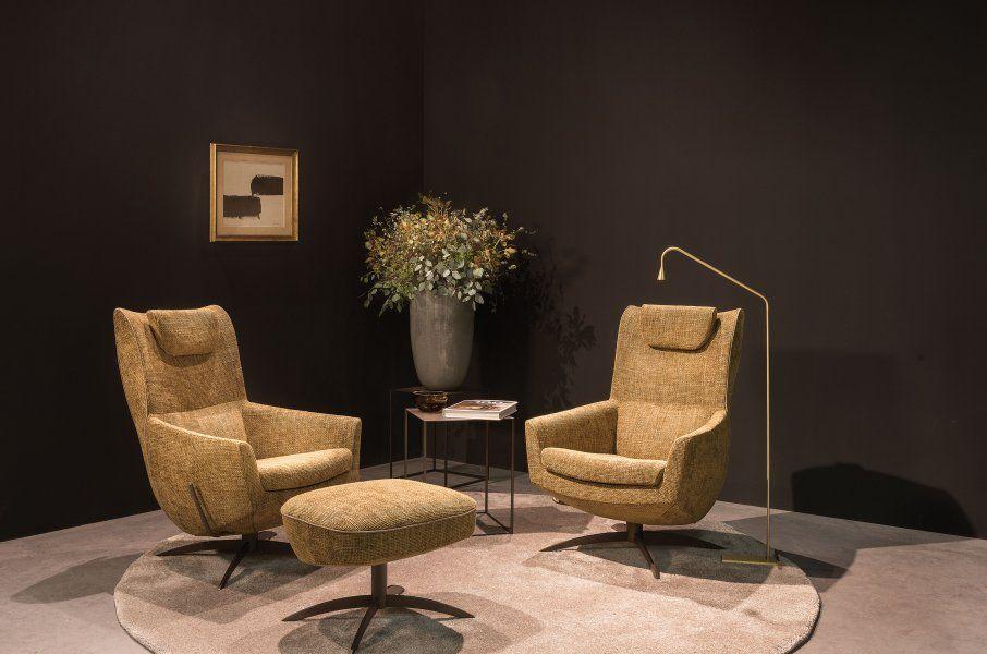 Griffon armchair | JORI - Elegant nestling in a surprisingly compac ...