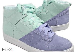sneakerlicious: Nike Dunk High Easter 2012