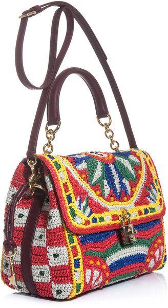 Bolsos de playa y paja Dolce & Gabbana para Mujer  – Bolsa