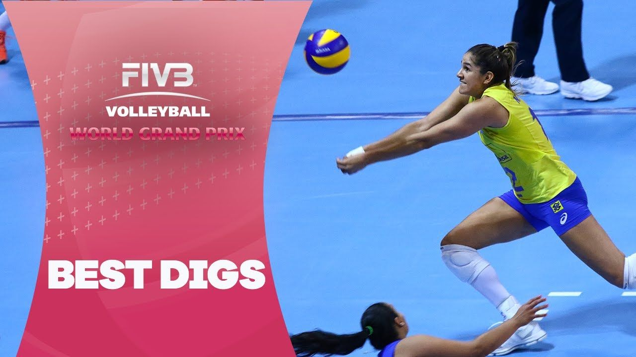 Check Out These Amazing Recoveries Best Digs World Grand Prix Volleyball Skills Grand Prix Ball Exercises
