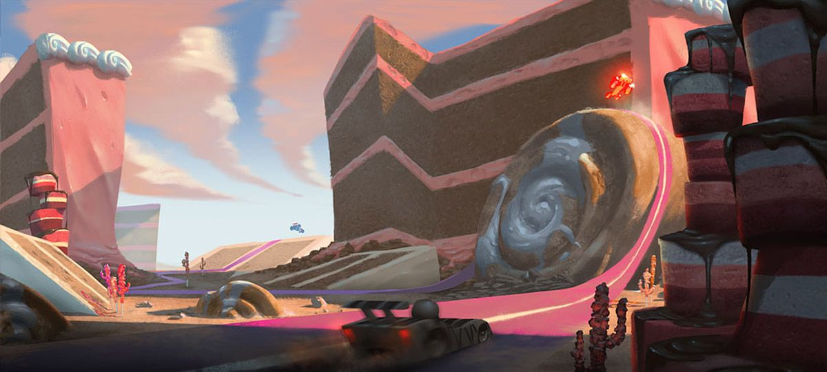 Living Lines Library Wreck It Ralph 2012 Locations