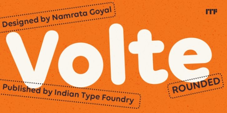 Volte Rounded Font Download Fonts Round Font Free Fonts