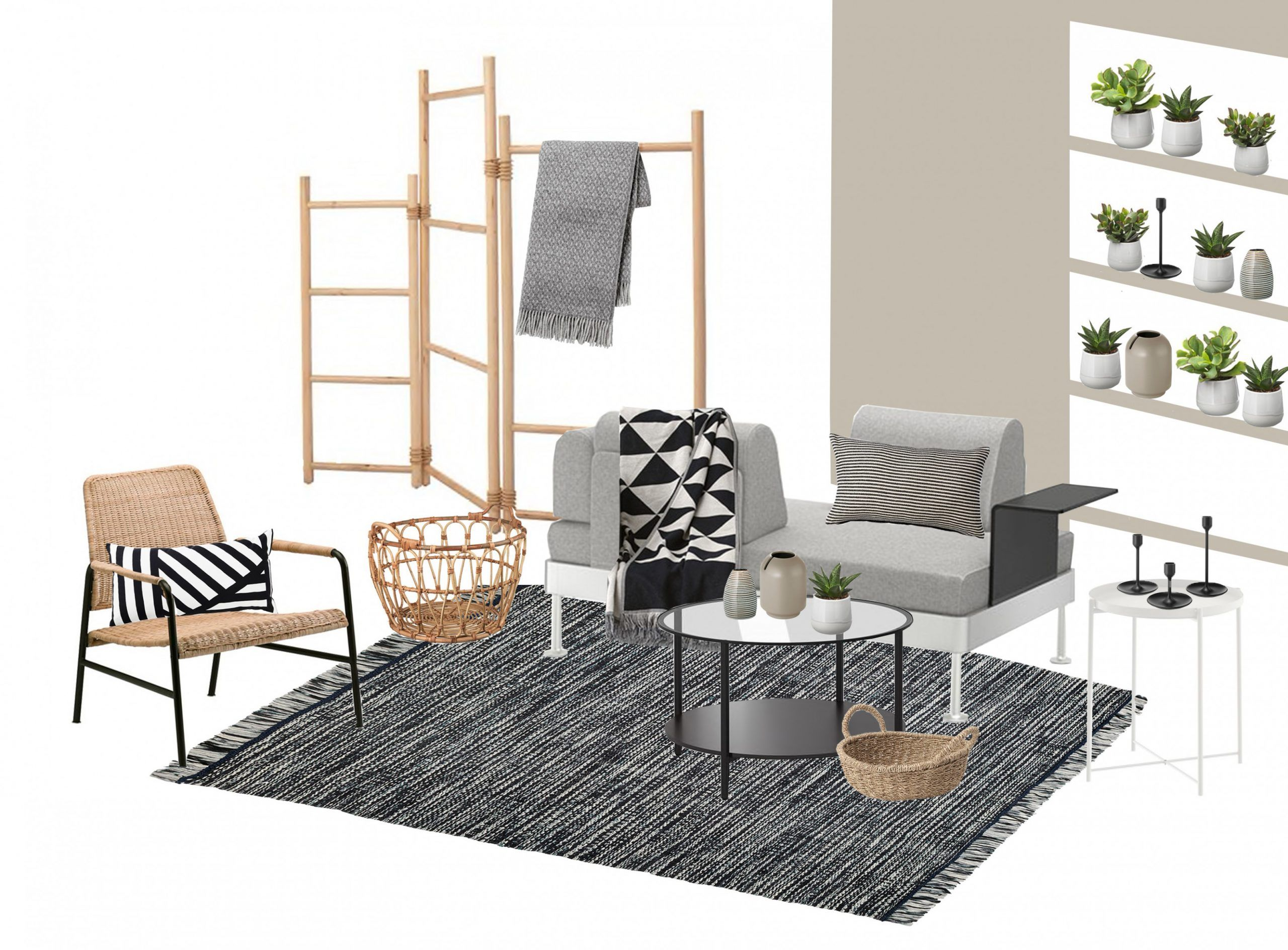 13 Ikea Living Room Mood Board di 2020