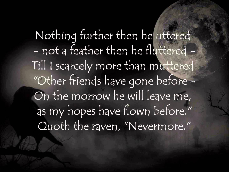 The Raven Van Edgar Allan Poe Vertolkt Door Omnia Allen Book Inspiration Poetry By