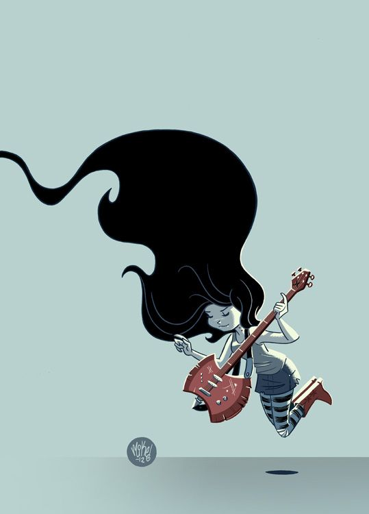 Marceline by:mike Maihack