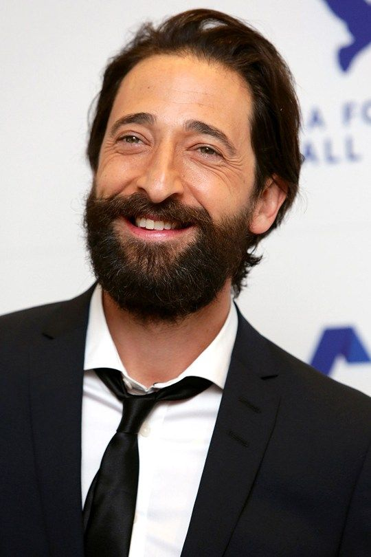QUESTION TIME: Beard or no beard? Amazing Adrien! Adrien brody