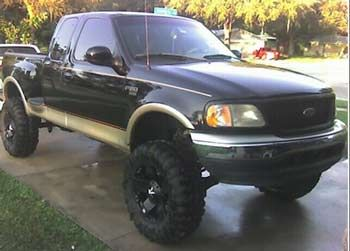 2000 2wd F150 Lariat With 7 5 Fabtech Suspension Lift Kit 3 Body