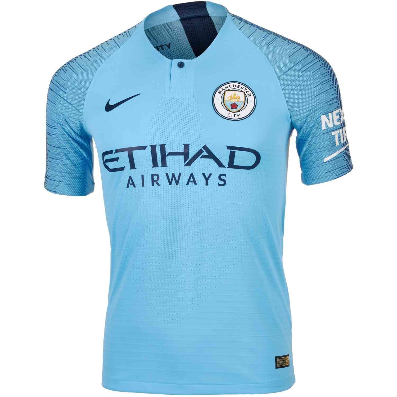 brand new 7f5f0 43fa6 Nike Manchester City Home Match Jersey 2018-19 | Kits ...
