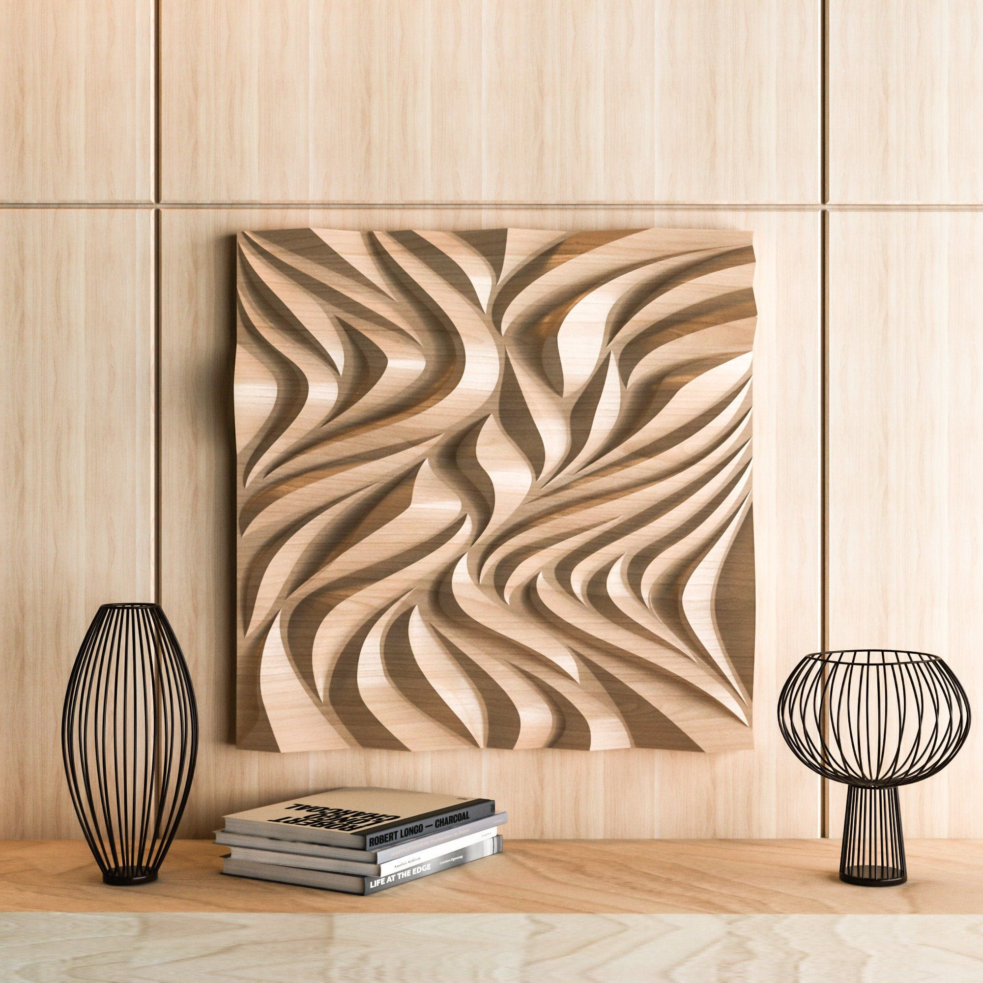 Cnc Files For Wood 3d Model Of Wall Panels Stl Object Cnc Etsy Diy Cnc Router Cnc Wood Carving Cnc Router Projects