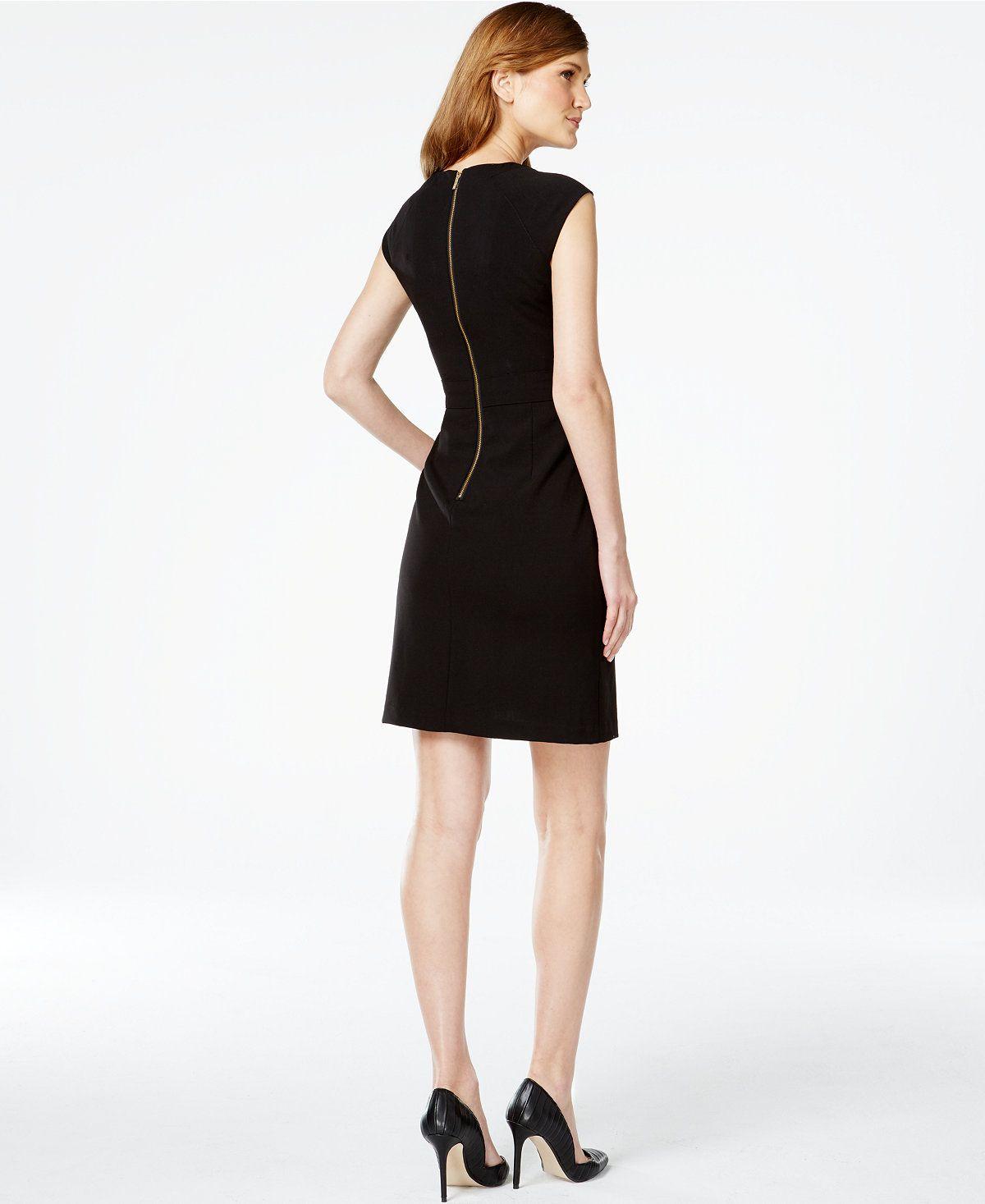 15+ Calvin klein black dress macys ideas