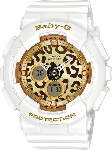 3b010c0fa7eeb BA120LP-7A2 - Baby-G White - Womens Watches
