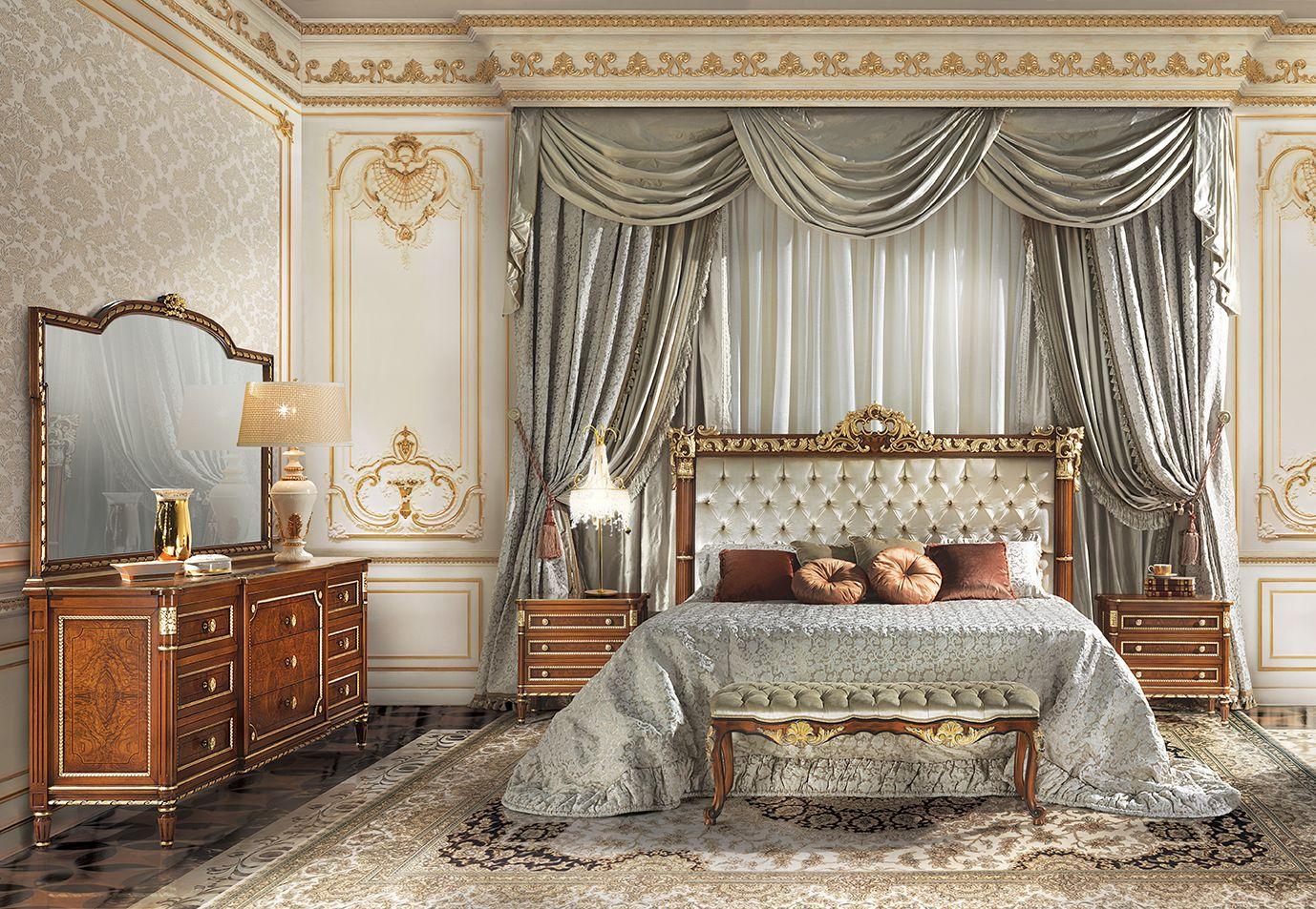 Stravinskij Luxury Classic Italian Bedroom Furniture Camere Da Letto Di Lusso Design Della Camera Da Letto Camera Contemporanea Luxury italian bedroom furniture